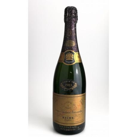 1983 - Champagne Veuve Clicquot Ponsardin Brut Carte d'Or