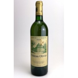 1989 - Chateau Olivier white - Graves