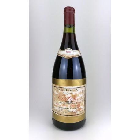 1986 - Magnum Corton Le Rognet Grand Cru - Laleure Piot
