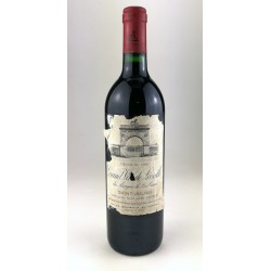 1990 - Chateau Leoville Las Cases - Saint Julien