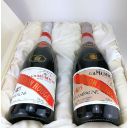 1985 - Coffret champagne Mumm Cordon Rouge